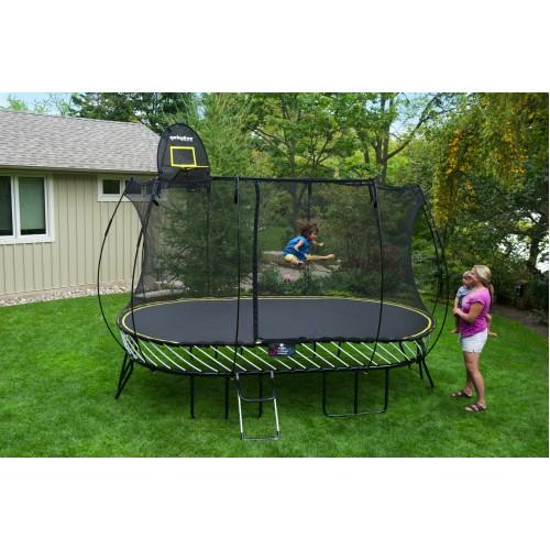 13 X 8ft Large Oval Springfree Trampoline & Safety Net