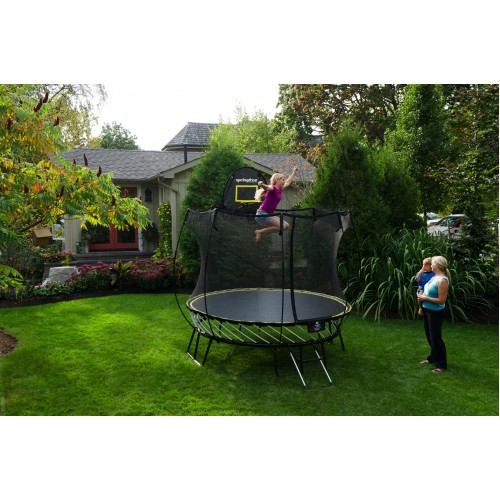 Trampoline Colorado Springs Sale: Springfree 8ft Compact Round Trampoline & Safety Net